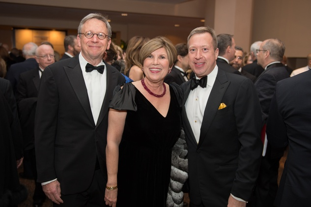16 Jerry G. Fischer, from left, Robin Angly and John G. Turner at the HGO Concert of Arias February 2015