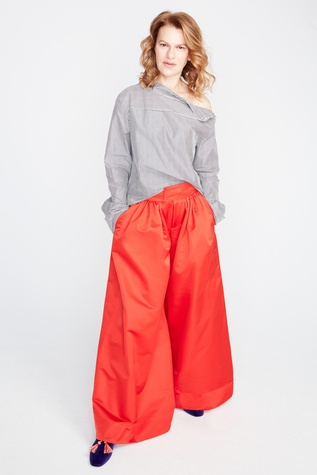 Sandra Bernhard in J,Crew fall 2017 collection