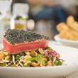 Asian tuna salad at Black Walnut Cafe