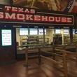 NRG Stadium barbecue stand