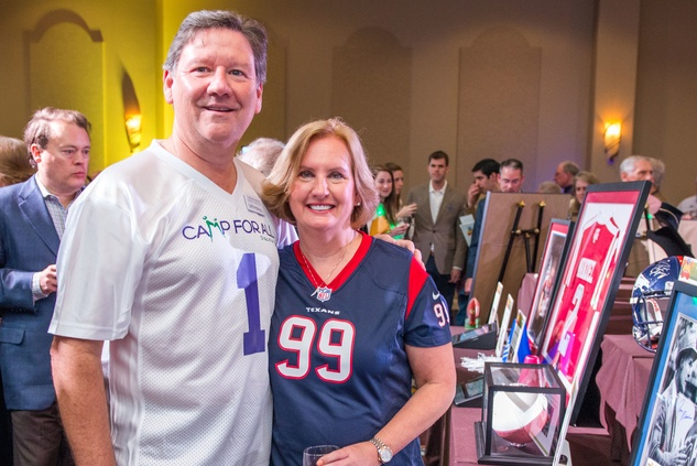 208 Tom and Janet Behanick at the Camp For All Super Ball February 2015