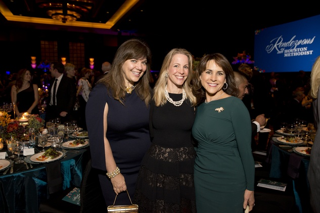 News, Shelby, Rendezvous with Houston Methodist, Nov. 2015, Terri Havens, Raquel Segal, Maria Bush