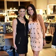 11 1637 Cristina Terrill Kooker, left, and Cana Odom at the Lucchese Grand Opening February 2015