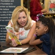 News, Shelby, AdvoCare reading event, August 2014, Julie Baker Finck