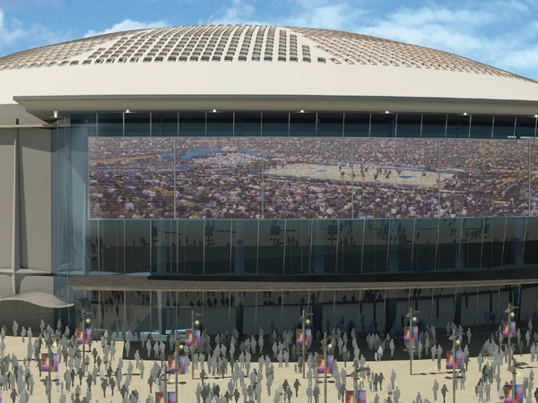 Apartments Near Reliant Stadium Astrodome Is Saved Your First Look At A 194 Million