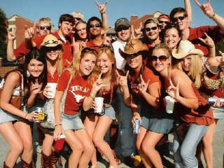 University of Texas, UT, party, partying, tailgate