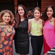 Marni Zarin, from left, Lela Brodsky, Jessica Collado and Niki Sekandari at the Houston Ballet Center for Dance's Ballet and Bubbles October 2013