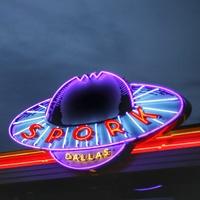 Spork Dallas signage