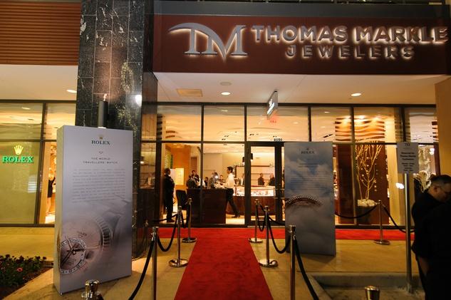 Thomas Markle Jewelers grand opening at Gateway Memorial City December 2014