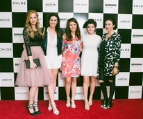 Austin Fashion Week 2016 red carpet Kaily Mae Sieck Hilary Rose Cynthia Velasco Jonie Howard Sylvia Vaquera