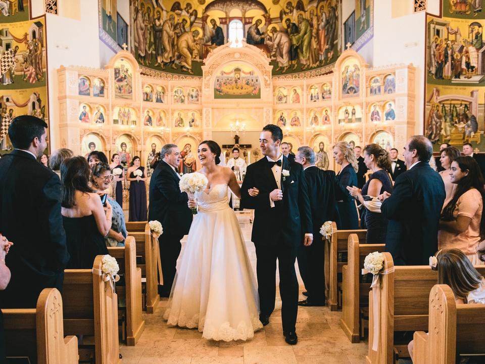 13 Spectacular Weddings February 2014 Jamie and Takis Wedding