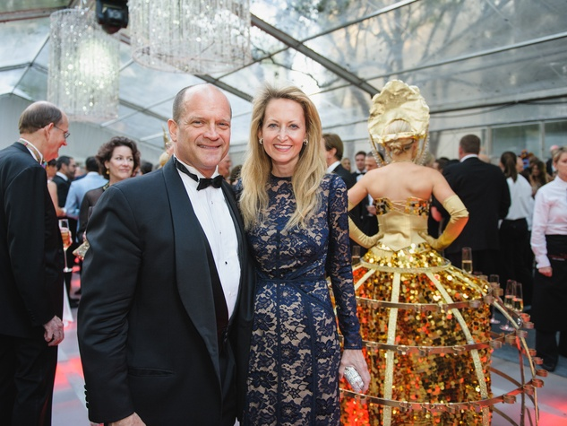 Allan McBee, Lynn McBee at Art Ball 2014