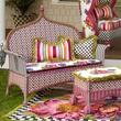 new for spring gardens MacKenzie-Childs March 2015 Flower Market Outdoor Bench
