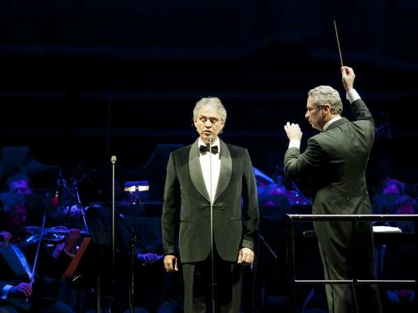 Andrea Bocelli, concert, November 2012