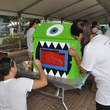 """17 A """"Monster's Inc."""" themed tiny library at young professionals build Tiny Libraries September 2014"""