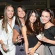 Disney Hanka, from left, Michelle O'Hara, Camila Cubero and Alex Richoux at the ZooZa Event at Hotel ZaZa August 2014