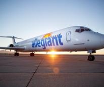 Allegiant Air plane