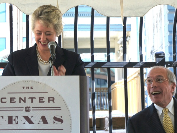 The Center for Texas Cultural Heritage, Mayor Annise Parker, October 2012