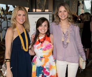 Lindsey Marsh, Anne Taylor Tipton, Natalie Jones, DMA, Affair of the Art, raffle party
