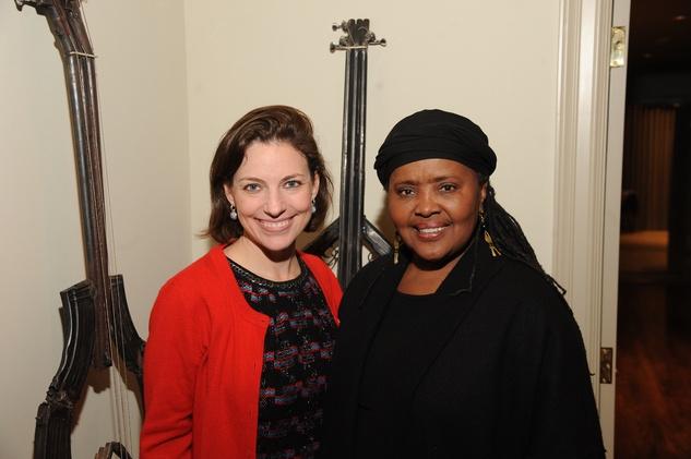 News, Shelby, Mayor Parker Award, Feb. 2015 Cullen Geiselman, Theola Petteway