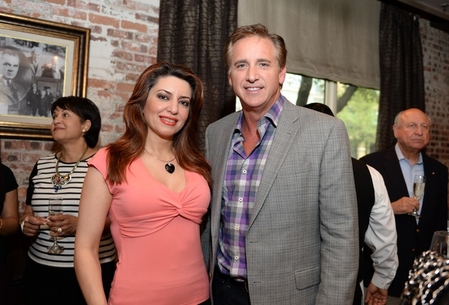 26 Parissa Mohajer and Rob Todd at The Thread Alliance Blue Plate Special kick off April 2015