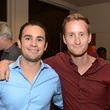Matt Blakeslee, left, and Justin Ploof at the Rienzi Punch Party October 2014