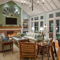 Houzz Dallas house home Athens farmhouse
