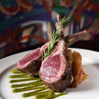 Rack of Lamb at Mr. Peeples