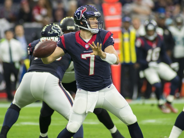 Case Keenum throw Texans Jags