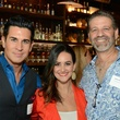 Chad Pitt, from left, Lauren Finkelstein and Drew Rodgers at the Houston Restaurant Kick-Off Event July 2014