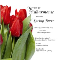 """Cypress Philharmonic presents """"Spring Fever"""""""