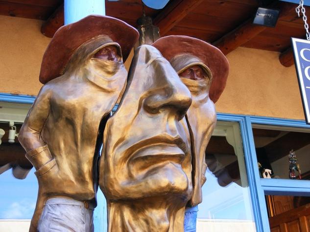 12, Marlo Saucedo, Taos, New Mexico, February 2013, sculpture