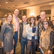 Parish School Gala, Feb. 2016 Katie Scallan, Dave Scallan, Victor Barrionuevo, Gaby Barrionuevo, Ken Miller, Isabel Miller