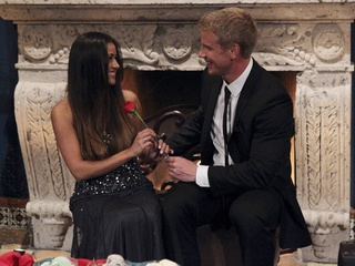 Catherine and Sean Lowe in The Bachelor