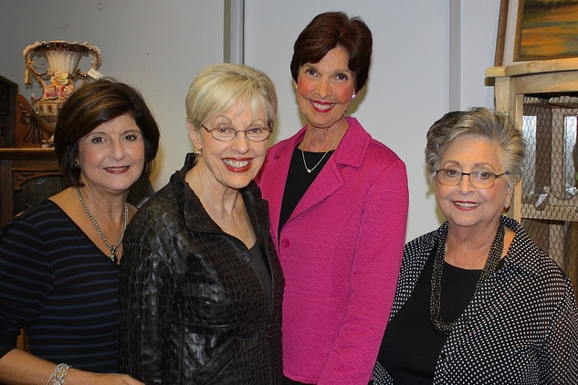 News, Shelby, Blue Bird Circle endowed chair, October 2014, Marlene Mousa, Mary Ann Macey, Martha Yates, Dolores Kamel