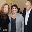 Julie Brown, left, with Pat and Merv Schaefer at Camp for All October 2013