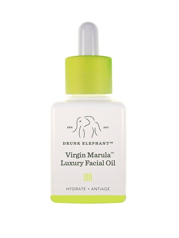 summer makeup Drunk Elephant Virgin Marula Luxury Facial Oil