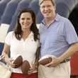 Cabrina and Steven Owsley at The Society for Leading Medicine Houston Texans Family Field Day May 2014