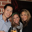 9 Howard Herring, from left, Lynn Clarke and Karyn Enriquez at the Eleven XI party November 2013