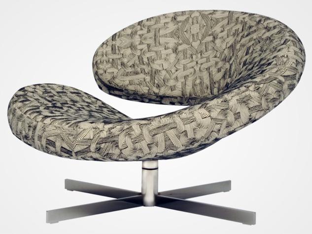 Nuage swivel armchair at Roche Bobois