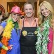 9 ESCAPE Celebrity Waiter Dinner April 2013 Courtney Zubowski, Bob Allen, Chita Johnson
