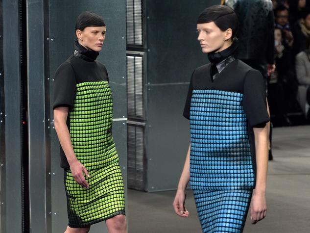 Alexander Wang models February 2014