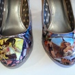 Chrysalis Designs shoes from Dragon's Lair comic book shoes