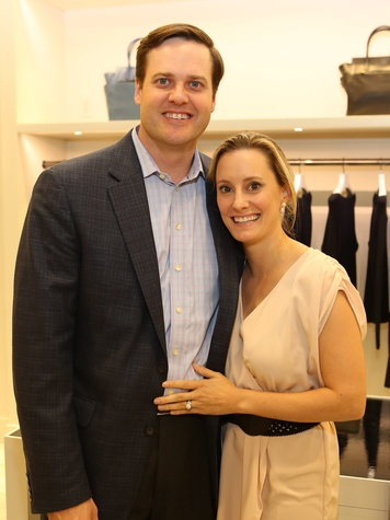 14 Spencer Stasney and Allison Blanton-Stasney at Saks' Key to the Cure October 2013