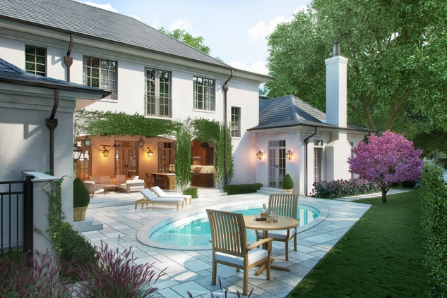 Houston, News, Shelby, Sudhoff Hampton Lane Collection, April 2015, 6018 Pine Forest - pool