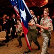 News_Boy Scouts dinner_April 2011_Color Guard