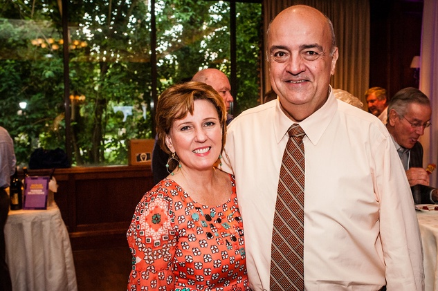 10 Debbie and Ozzie Bauer at The Periwinkle Foundation's Iron Sommelier October 2014