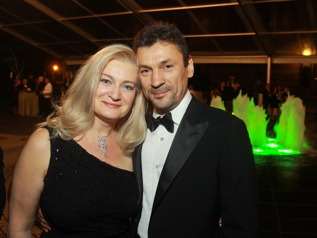 141 Ekaterina Podossinnikova and Igor Kliakhandler at the Baker Institute 20th Anniversary Gala November 2013