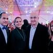 Abdel A. Elkhadiri, from left, Dania Dandashli, Wadih El Hajj, Wafa Abdin at the FotoFest opening party March 2014