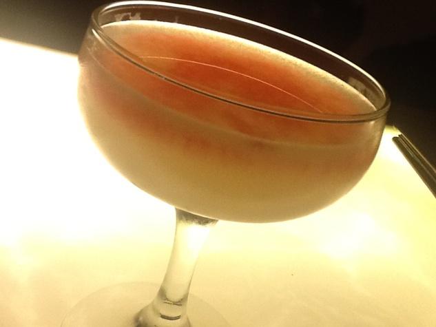 3 Line & Lariat Hatch-22 cocktail at Line & Lariat